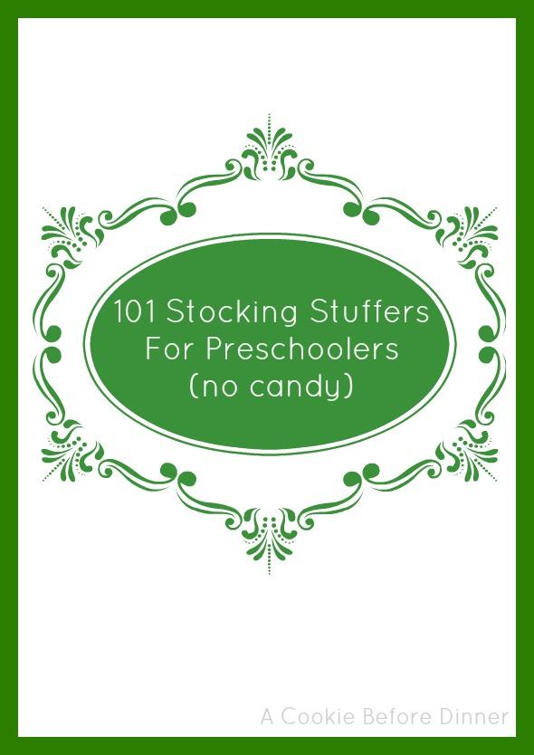 101 Stocking Stuffers For Preschoolers