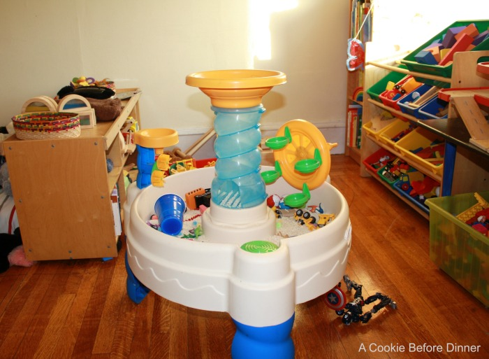 Water Table Repurposed. Clean it up and bring it inside!
