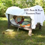 DIY: Pack & Play Reading Fort