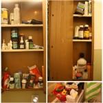 {Big Girl Panties} Medicine Cabinet Jenga.. aka the project I've been avoiding