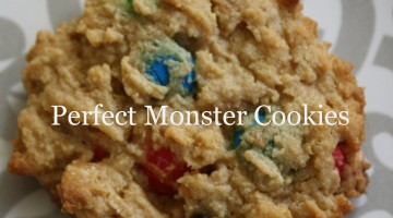Perfect Monster Cookies