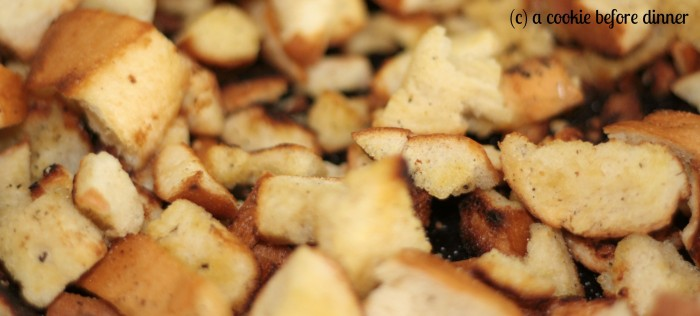Toasty bread for perfect panzanella