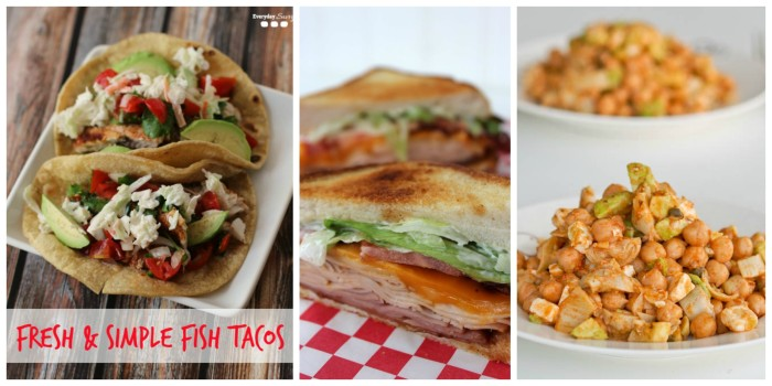 Summer supper ideas. Great for the nights it is too hot to cook! See the full list at www.acookiebeforedinner.com