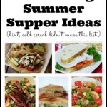 10 Amazing Summer Supper Ideas