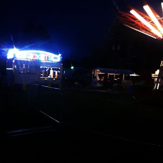 Nighttime at the Westfield Fair