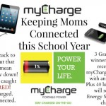 On The Go With myCharge + Giveaway