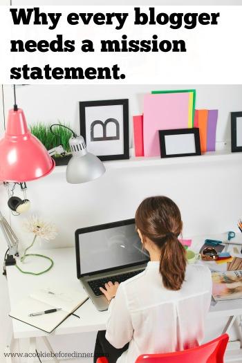 Blog mission statement. Blogger rehab.