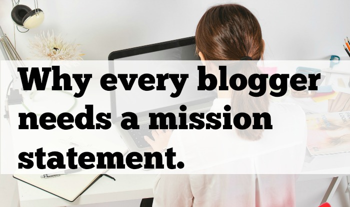 Blogger Rehab Why Every Blogger Needs A Mission Statement