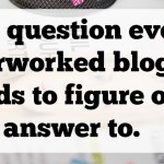 Blogger Rehab- Who Do You Really Blog For Anyway?