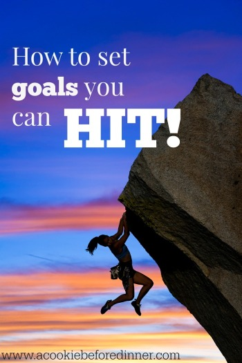 Smart goals are goals you hit!