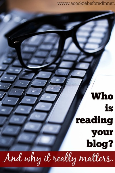 Blogger Rehab. Who is reading your blog and why it really matters. This is so important to know!