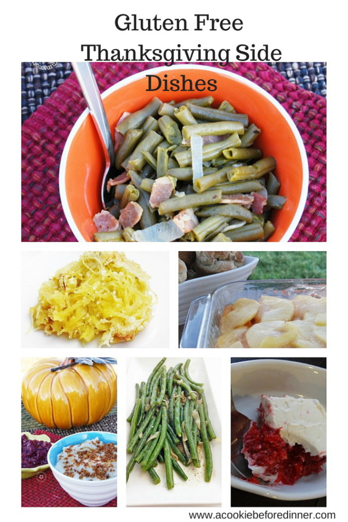 A round up of amazing gluten free Thanksgiving side dishes