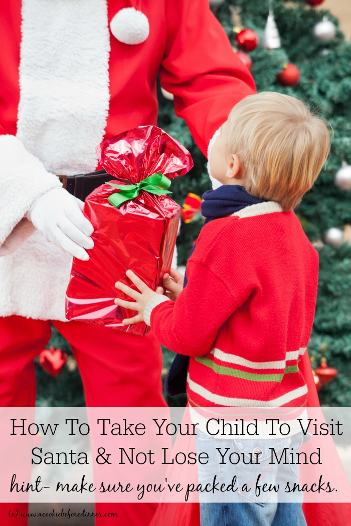 Taking your child to visit Santa can be stressful. I've got 10 tips to make your Santa visit a complete stress free success!