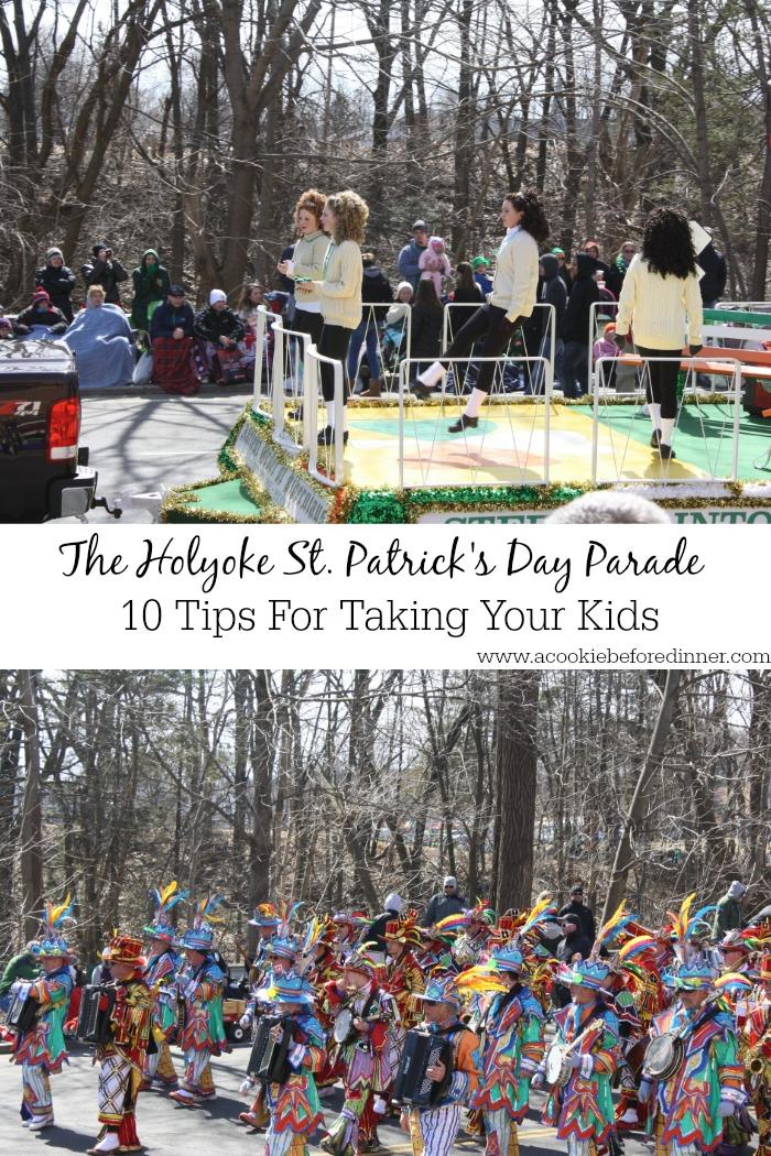 Holyoke St. Patrick's Day Parade With Kids