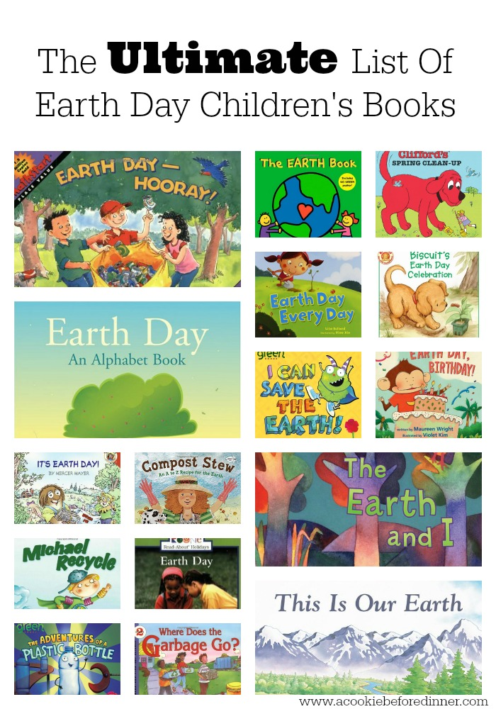 Have a child who loves to read? Celebrate Earth Day with these amazing books!