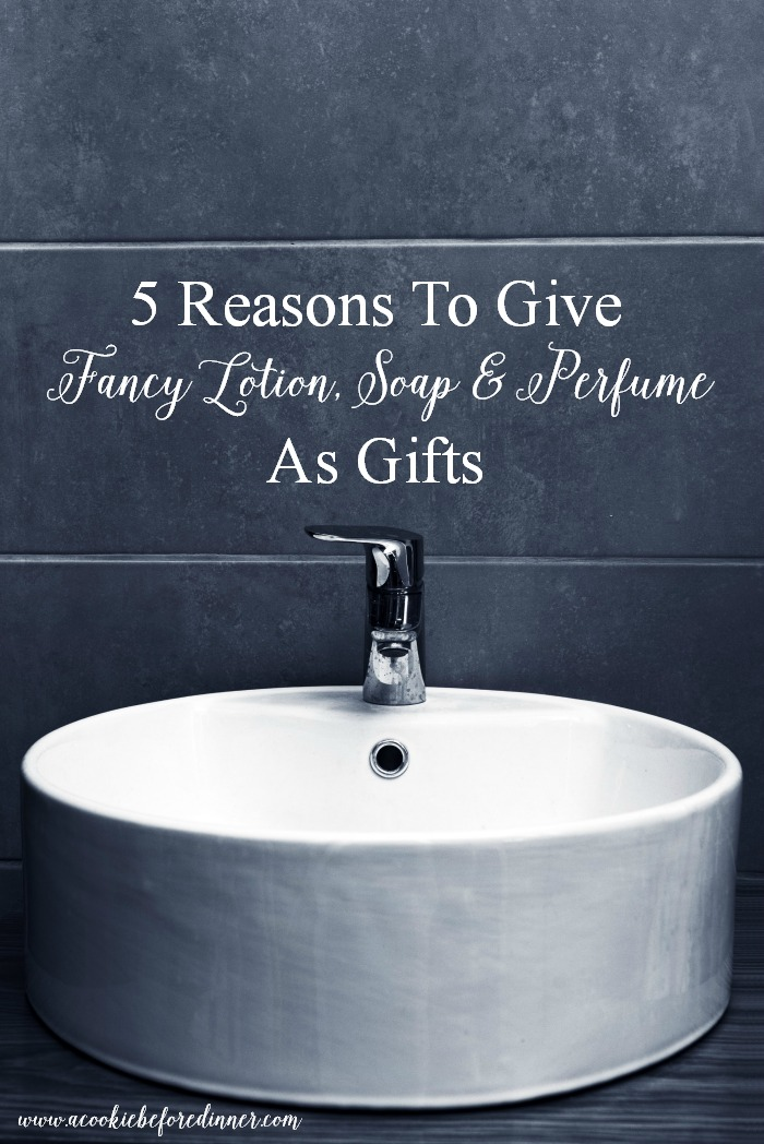 I love giving fancy bath and body products to friends and family as a gift. There are so many great reasons why these are a great splurge gift!