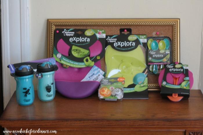 Encouraging Toddler Food Exploration Prize Pack