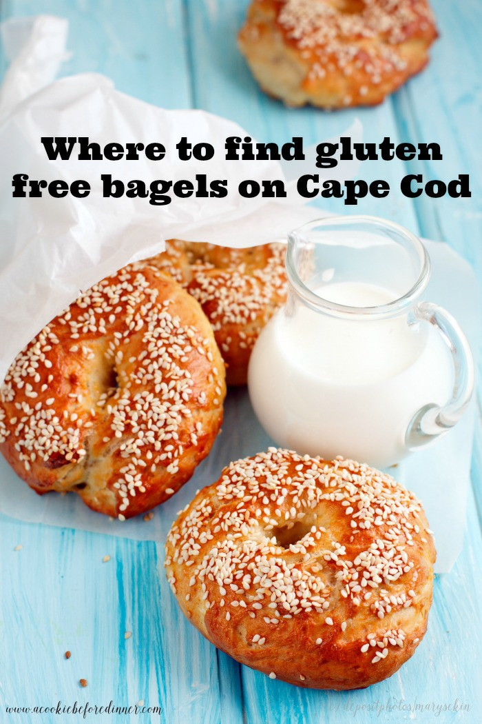 Gluten free and traveling to Cape Cod? I've found gluten free bagels at a local bagel shop!
