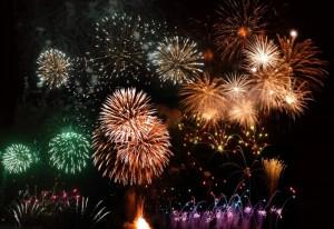 Fireworks In Western MA 2015