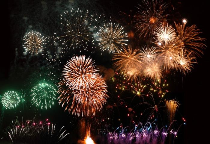 Western MA Fireworks 2017