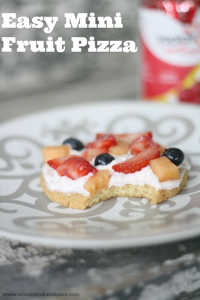 Easy Mini Fruit Pizza Hero Image