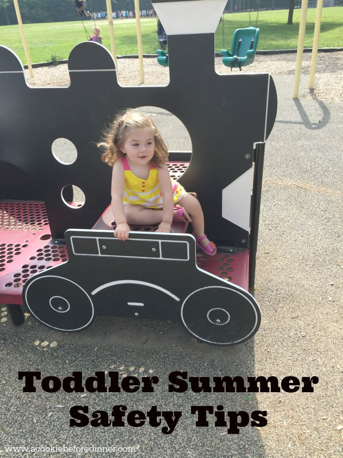 Toddler Summer Safety Tips. Keep your toddler safe this summer with these great tips!