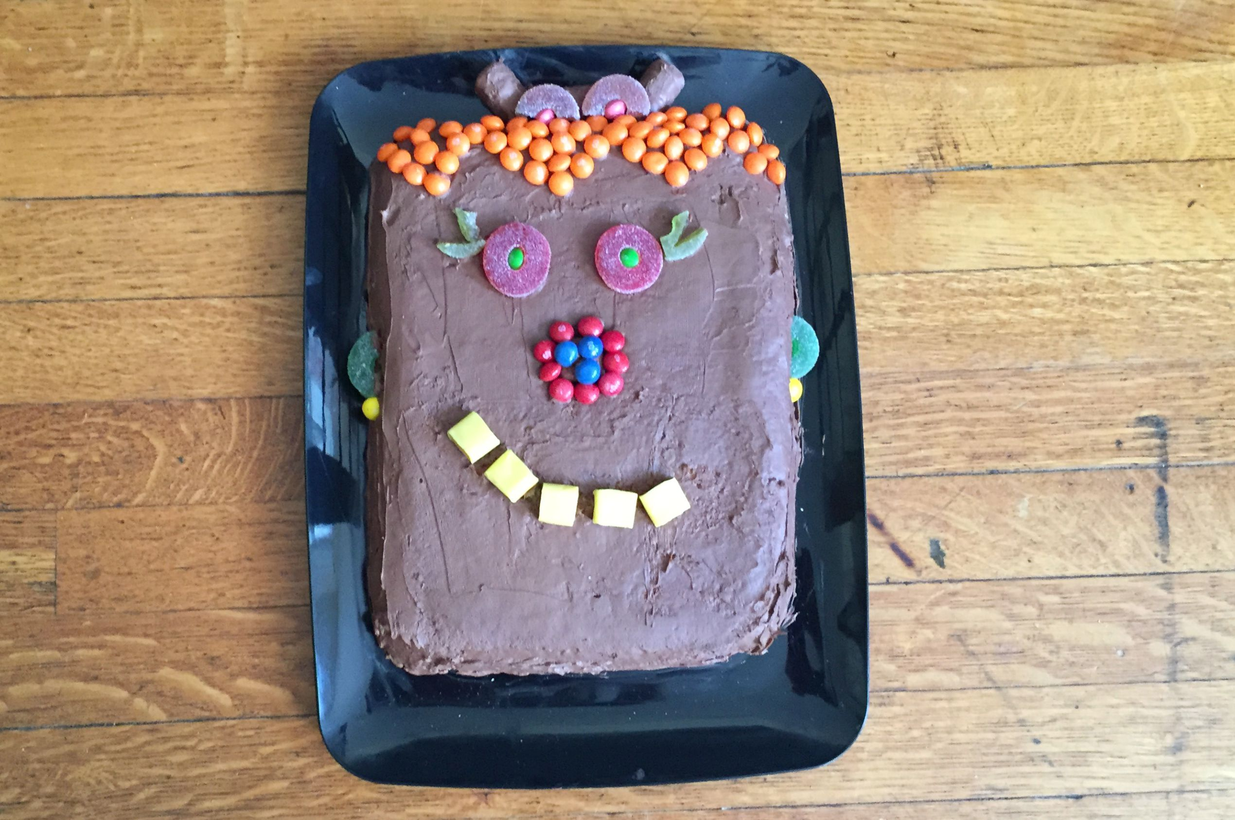 Girl Monster Cake Featured Image