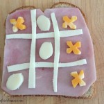 Easy Tic Tac Toe Sandwich