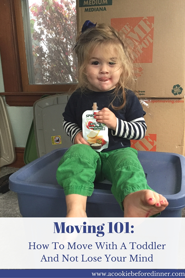 Stress free moving tips: How To Move With A Toddler And Not Lose Your Mind