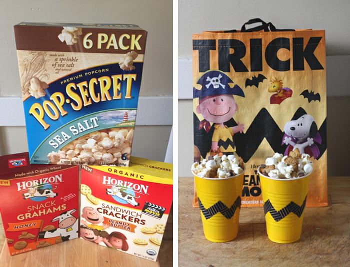 S'mores Popcorn Peanuts Movie