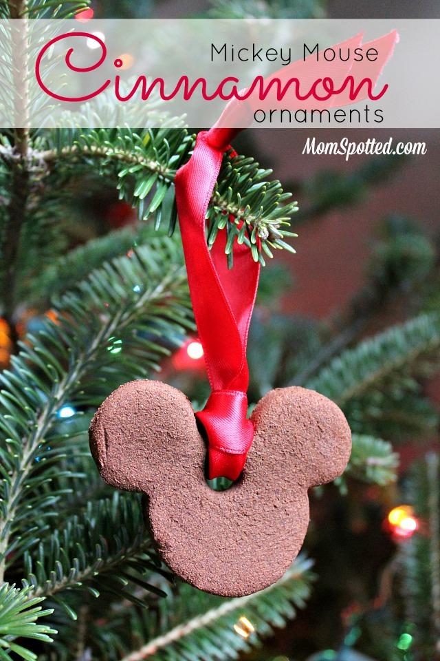 2 Ingredient Cinnamon Ornament