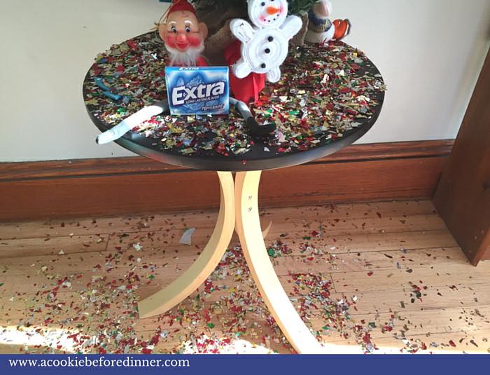 Glitter And Gum Elf On The Shelf Idea