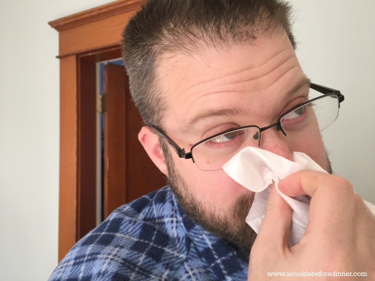 How to help your husband when he's sick 2