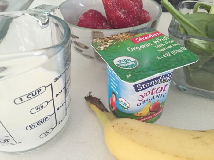 Toddler Approved Green Smoothie Ingredients