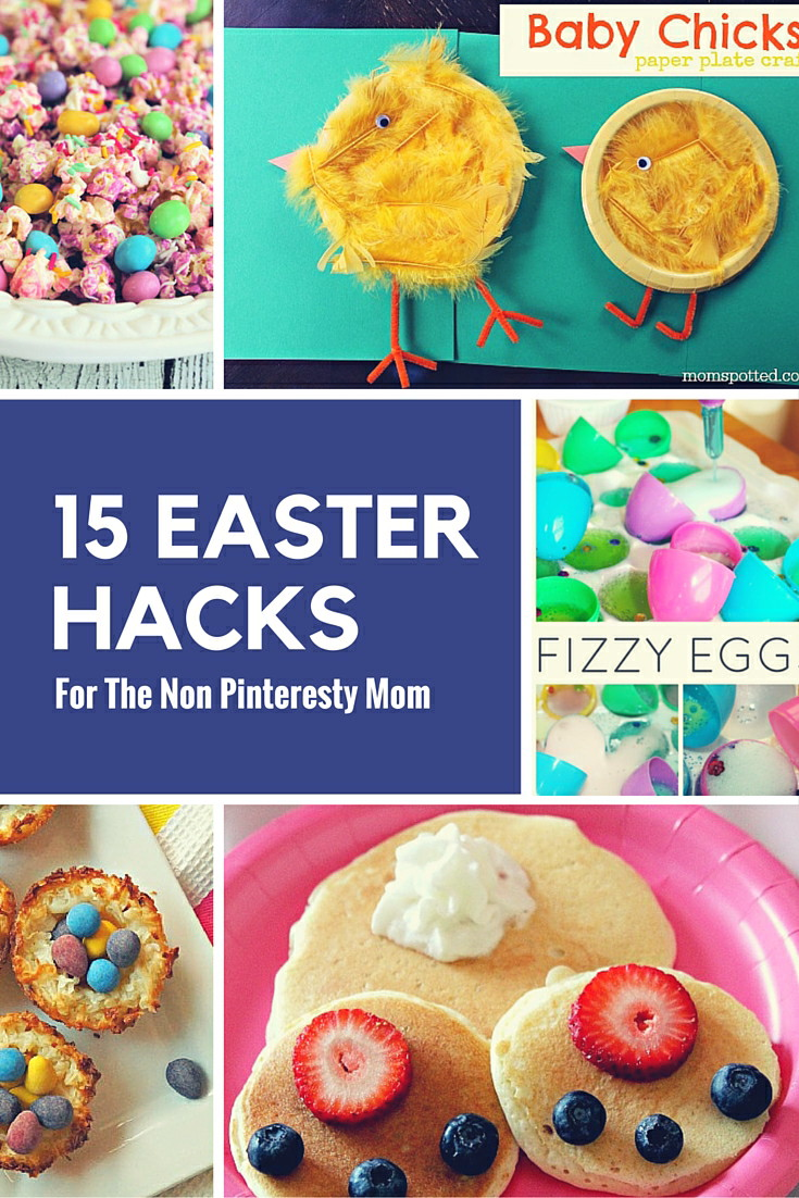 Don't let Easter stress you out with these awesome Easter Hacks for the non pinteresty! These ideas are all super easy and do able, promise!