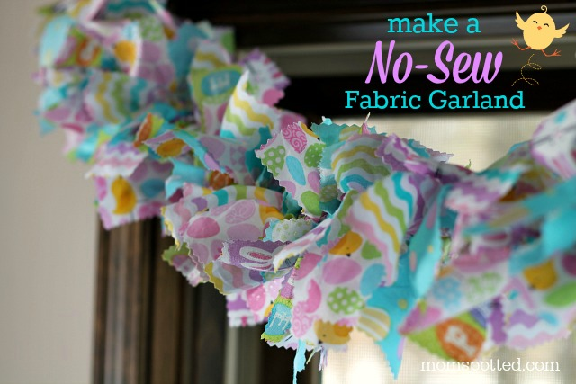 Make-A-No-Sew-Fabric-Garland-Easter-Themed