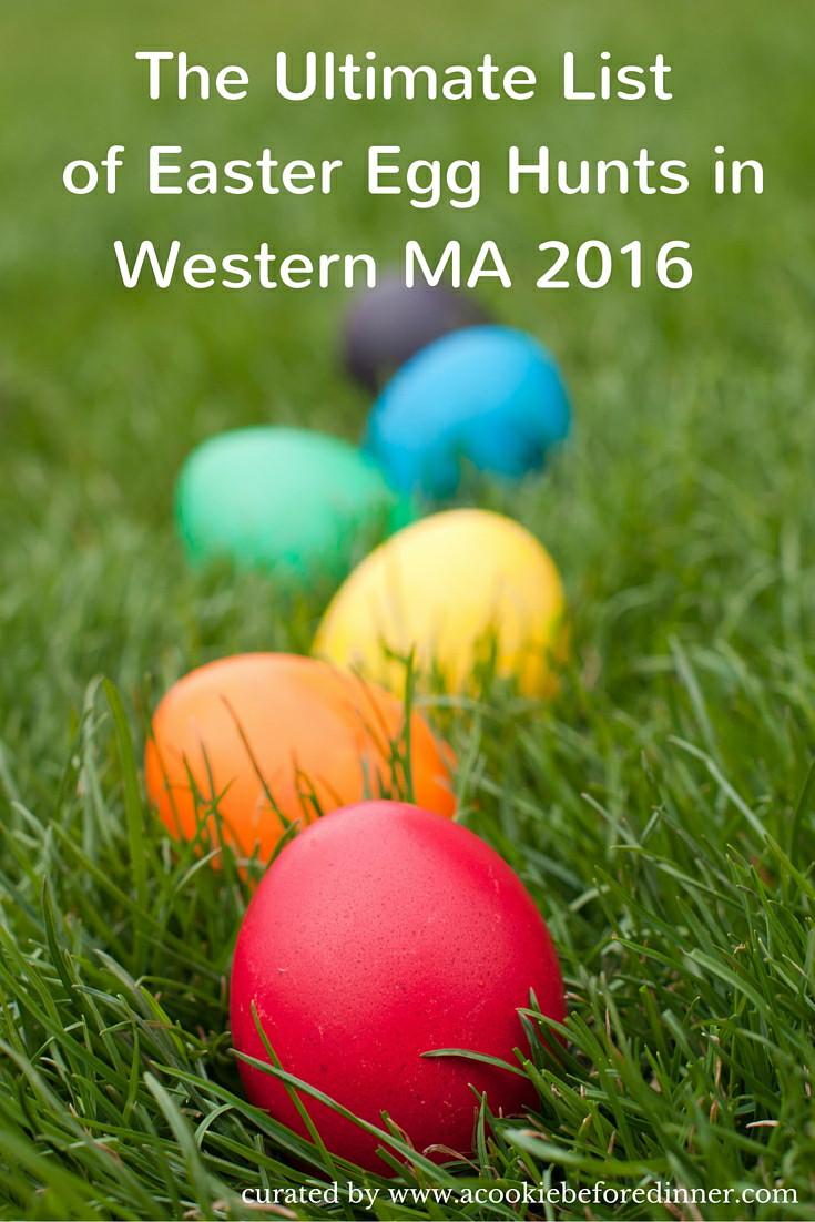 A listing of 2016 Easter Egg Hunts In Western MA