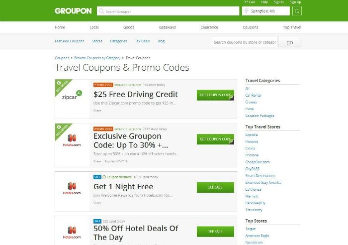 Groupon hotel coupon code