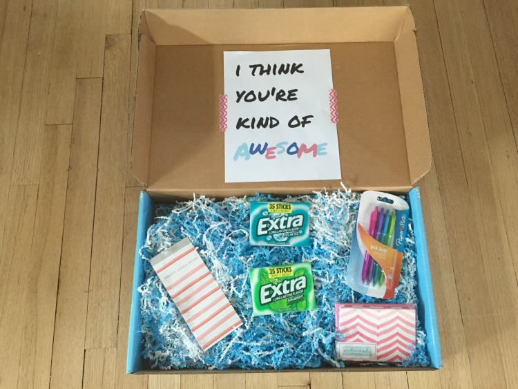 Act of kindness care package. Send a care package act of kindness!