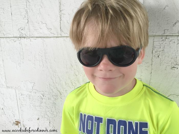 An honest look at kid's sunglasses, A Babiators Review