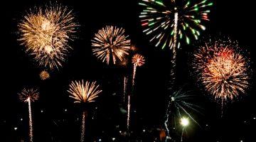 Fireworks In Western MA 2016