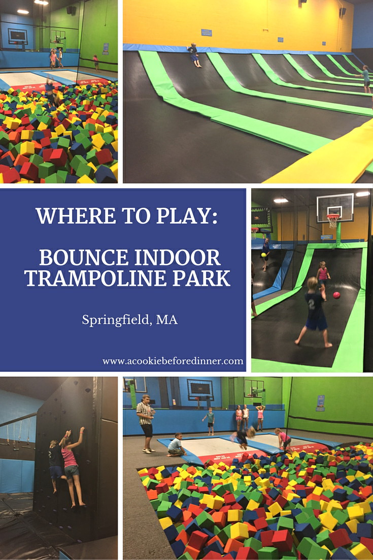 Have a blast and jump until your heart is content at Bounce indoor trampoline park in Springfield MA