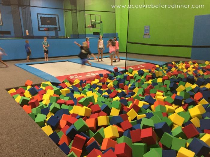 Bounce Trampoline Sports Pits