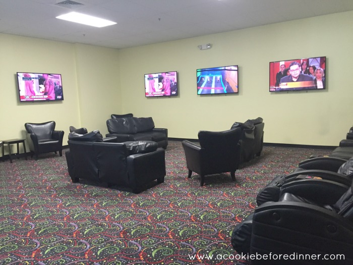 Bounce Trampoline Springfield MA Parent Waiting Room
