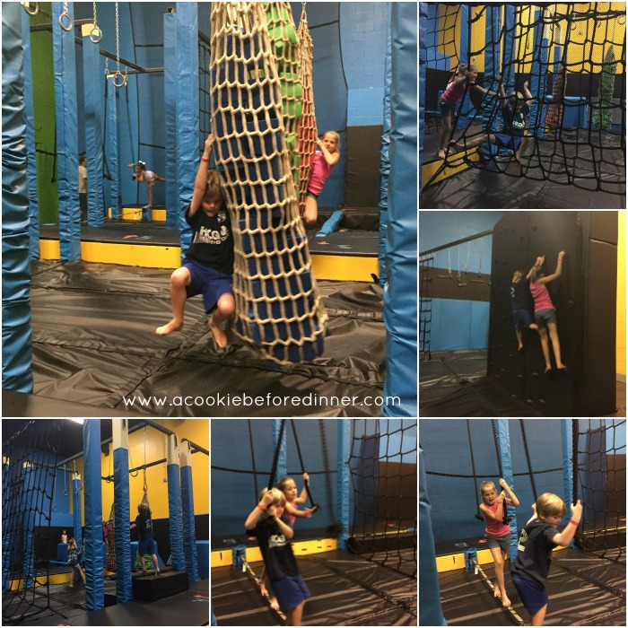 Ninja Warrior playspace in MA.