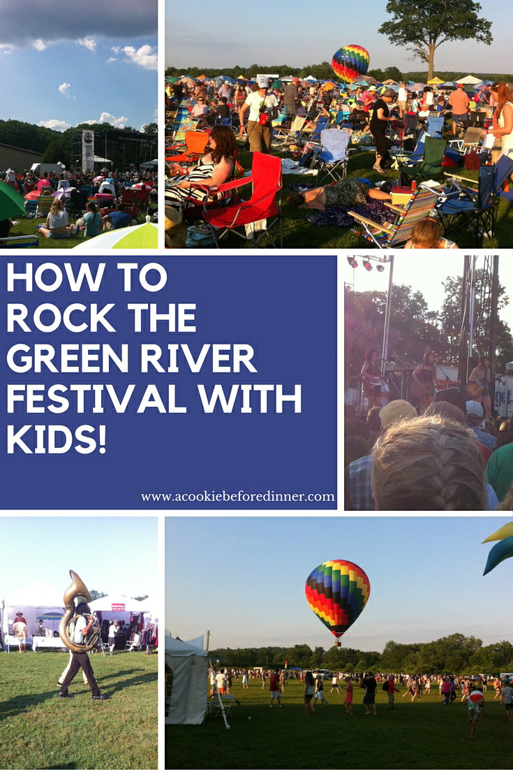 Thinking about going to the Green River Festival? Rock the event and take your kids too!