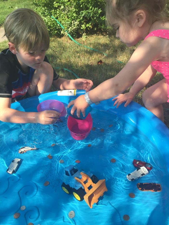 Kiddie Pool Sink And Float