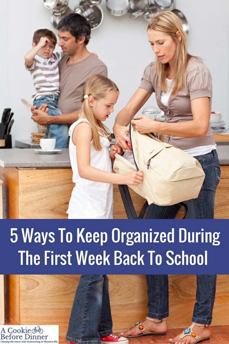 Rock back to school week with these awesome Back To School Organization Tips