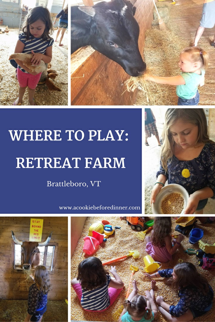 Retreat Farm in Brattleboro VT is a day trip! Spend the day enjoying barnyard animals up close and personal!