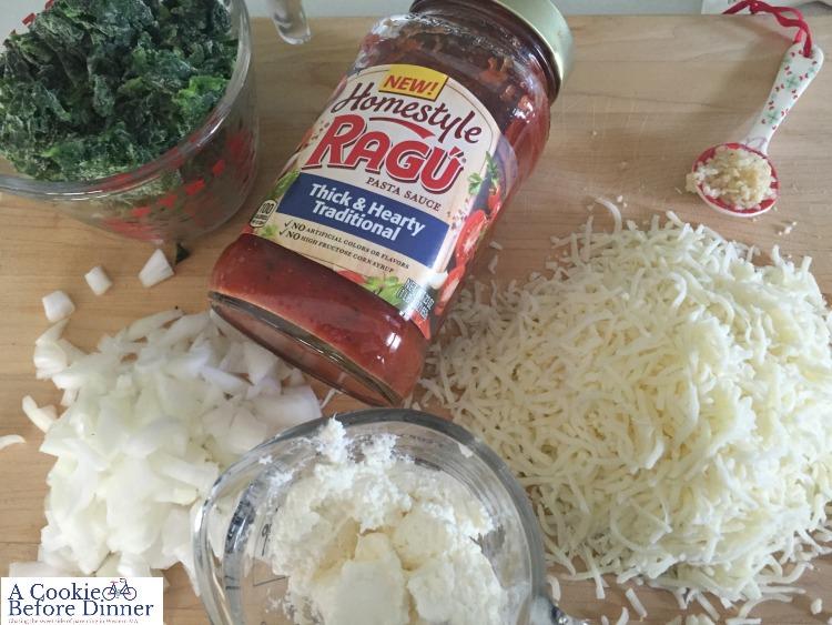 Skillet lasagna with Ragu homestyle sauce!